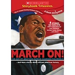 Scholastic Storybook Treasures: March On! and More Stories About African American History DVD