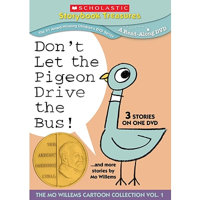 Image result for scholastic dvd don't let the pigeon