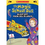 Scholastic The Magic School Bus: Blast Off From Sea to Space DVD