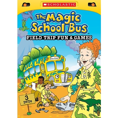 Scholastic The Magic School Bus: Field Trip Fun and Games DVD
