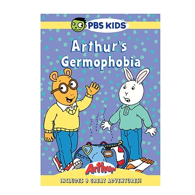 PBS® Arthur Germophobia DVD