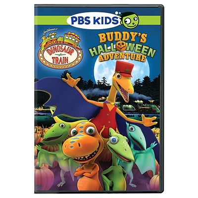 PBS® Dinosaur Train: Buddys Halloween Adventure DVD