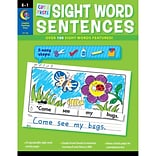 Creative Teaching Press® Cut & Paste Sight Words Sentences