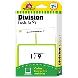 Evan-Moor® Flashcard,  Division Facts Through The 9S
