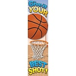 Eureka® Basketball Motivational Banner, 4