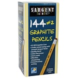 Sargent Art® Graphite Pencils; 144/Box