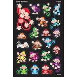 Trend® Color Monkeys Supershapes Stickers