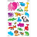 Trend® Awesome Animals Supershapes Stickers; 160/Pack