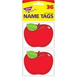 Trend® Shiny Red Apple Name Tags, 36/Pkg