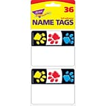 Trend® Paw Prints Name Tags