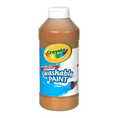 Crayola® 16 oz. Washable Paints; Brown