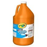Crayola® 1Gallon Orange Washable Paints