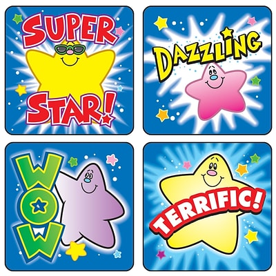 Motivational Stickers, Stars