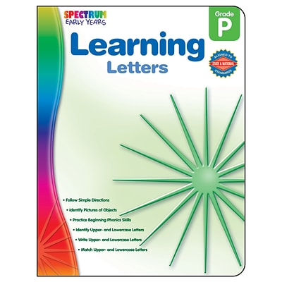 Spectrum Early Years, Learning Letters