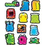 Monsters Shape Stickers