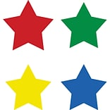Stars Multicolor Chart Seals, 810/pkg