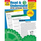 Evan-Moor® Read and Understand With Levelled Texts Grade 6+ Resource Book, Language Arts/Reading