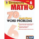 Math 70 Must-Know Word Problems, Level 6