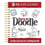 Publications International® Brain Games Dare To Doodle Adult