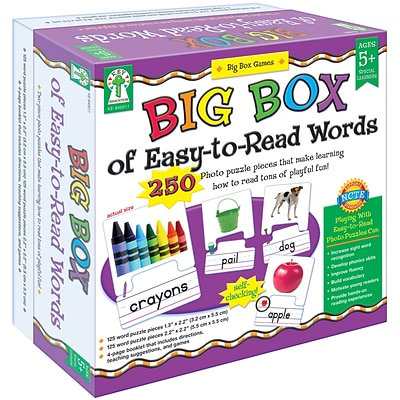 Carson-Dellosa Big Box of Easy-to-Read Words