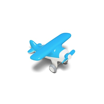 Kid O Products® Air Plane, Sky Blue