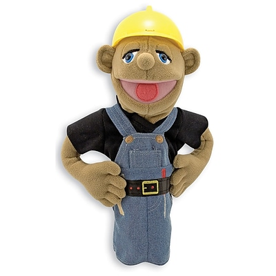 Melissa & Doug® People Puppets, Construction Worker