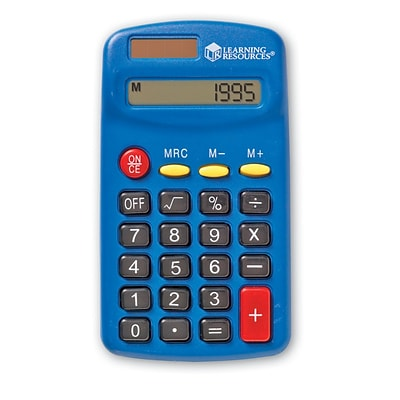 Learning Resources® Primary Calculator Each