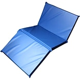Mahar 3-Section Standard Blue Rest Mat, 2 x 24 x 48