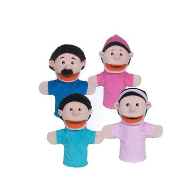 Get Ready Kids® Hispanic Family Puppets