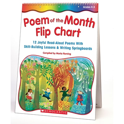 Scholastic Poetry, Poem of the Month Flip Chart
