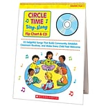Scholastic Circle Time Flip Chart & CD