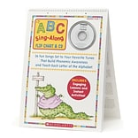 Scholastic ABC Sing-Along Flip Charts & CD