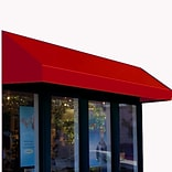 Awntech® 8 New Yorker® Window/Entry Awning, 44 x 36, Bright Red