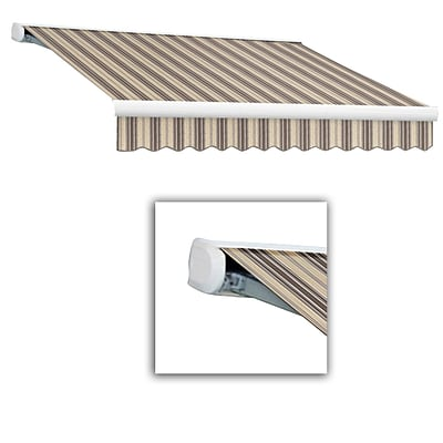 Awntech® Key West Manual Retractable Awning, 8 x 7, Taupe Multi