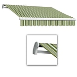 Awntech® Maui® LX Left Motor Retractable Awning, 14 x 10 2, Forest/Gray/Tan