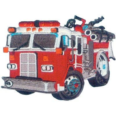 C&D Visionary Patches, Fire Truck
