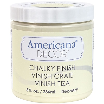 Deco Art® Americana® Decor™ 8 oz. Chalky Finish Paint, Whisper