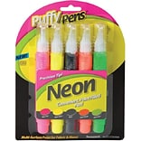 Assorted Puffy Paint™ Neon Pen Set