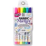 Tulip® 6L Fabric Markers® Neon Set