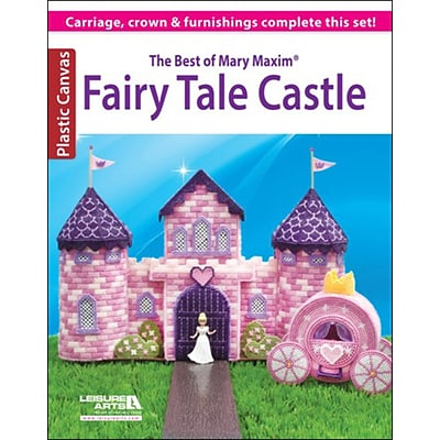 Leisure Arts® The Best of Mary Maxim Fairy Tale Castle Book