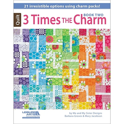 Leisure Arts® Three Times The Charm Book Two Book