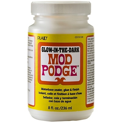 Plaid:Craft® Mod Podge® 8 oz. Glow In The Dark Glue