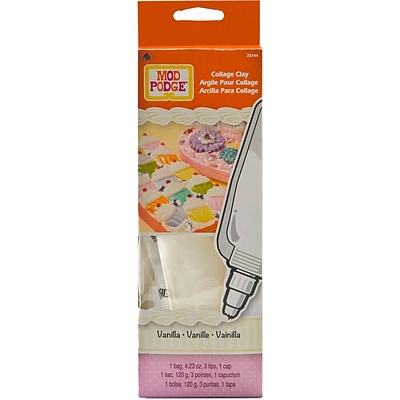 Plaid:Craft® Mod Podge® 4 oz. Collage Clay, Vanilla White