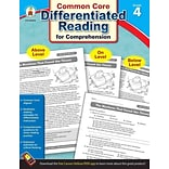 Carson Dellosa Differentiated Reading for Comprehension Resource Book, Grades 4