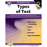 Carson Dellosa Common Core Types of Text Resource Book