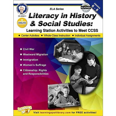 Carson Dellosa Literacy in History and Social Studies Resource Book