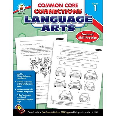 Carson Dellosa Common Core Connections Language Arts Workbook