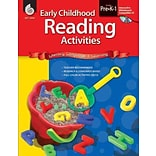 Shell Education Early Childhood Reading Activities Book, Grades PreK - 1