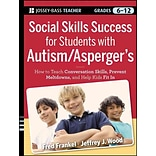 John Wiley & Sons Social Skills Success for Students with Autism/Aspergers Book