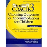 Brookes Publishing Co Choosing Outcomes & Accommodations for Children (COACH) Book
